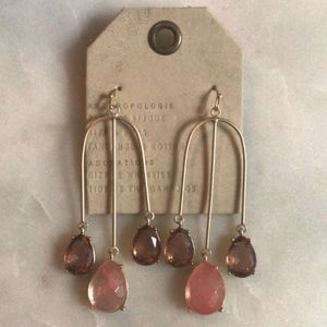 Anthropologie Attina Chandelier Earrings - NWT